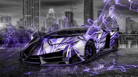 Lamborghini Veneno Anime Bleach Aerography City Car 2014
