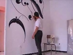 Dessin et peinture sur le mur 3 youtube for Chambre bébé design avec faire livrer des fleurs