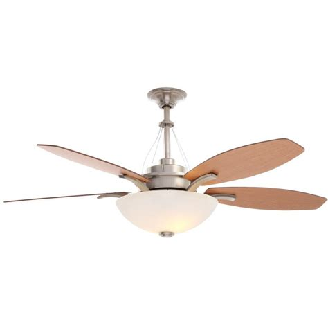 60 Inch Ceiling Fans Home Depot by Home Decorators Collection Railey 60 In Brushed Nickel