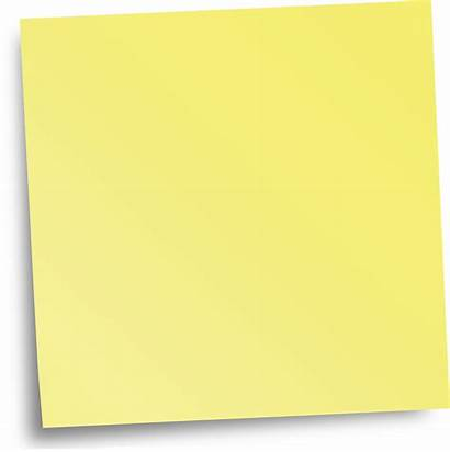 Sticky Note Notes Transparent Clipart Yellow Paper