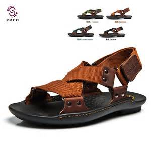 Best Men Leather Beach Sandals