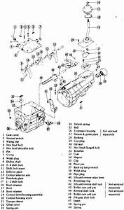 Diagram 99sf5 5 Speed Manual Transmission