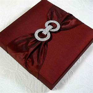 silk wedding invitation boxes an ultimate luxury With silk box wedding invitations indian