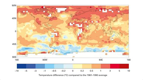 climate earth experienced hottest weather