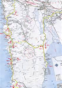 Road Map Baja California Mexico