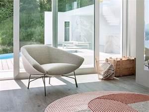 fauteuil de salon design pour un interieur moderne With tapis de sol avec ensemble canapé fauteuil tissu