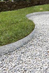 Gravier Pour Jardin : du gravier blanc pour d limiter les bordures du jardin ~ Premium-room.com Idées de Décoration