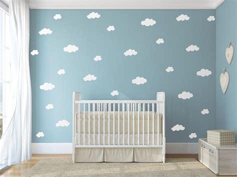 Wandtattoo Kinderzimmer Etsy by Wolke Aufkleber Wandtattoo Wei 223 E Wolke Jesabi Auf Etsy