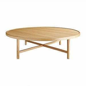 Grande Table Basse Ronde : etta tables basses naturel habitat ~ Teatrodelosmanantiales.com Idées de Décoration