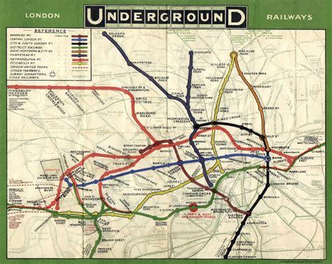 london underground maps   knew  needed