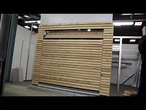 porte de garage affleurante kameleo youtube With porte de garage basculante 200x220