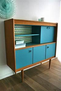 Meuble Scandinave Vintage : meubles buffet secretaire vintage oscar 5 r nov s design pinterest vaisseliers vintage ~ Teatrodelosmanantiales.com Idées de Décoration