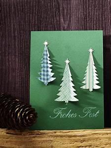 Weihnachtskarten Selber Basteln Anleitung : 5 kreative ideen weihnachtskarten selber basteln ~ Yasmunasinghe.com Haus und Dekorationen