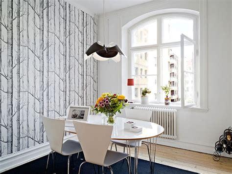 scandinavian wallpaper ideas youll love