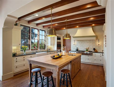 Hope Ranch Spanish Style Custom Home Kitchen