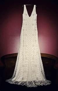 flapper bridesmaid dress 1920s wedding dress e a deco weddings