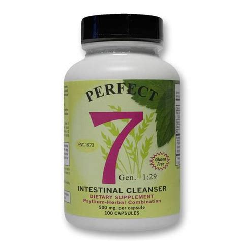 Agape Health Products Perfect 7 Intestinal Cleanser - 100 ...