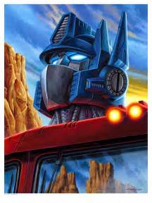 Transformers Optimus Prime Art