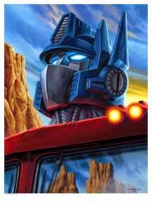 Transformers Optimus Prime Art