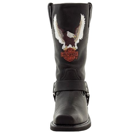 harley boots harley davidson men 39 s darren leather motorcycle boots