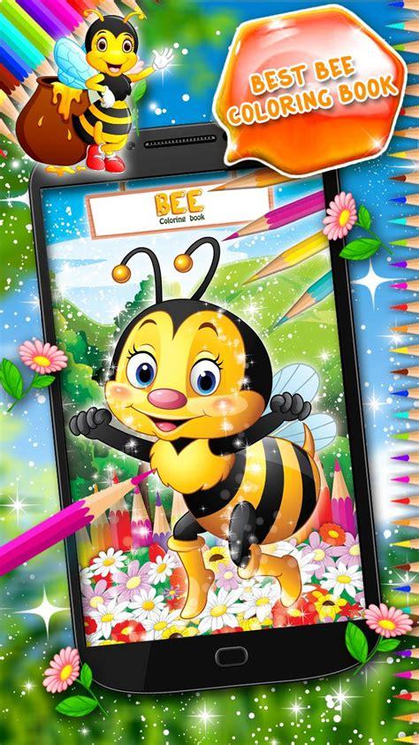 mewarnai gambar lebah