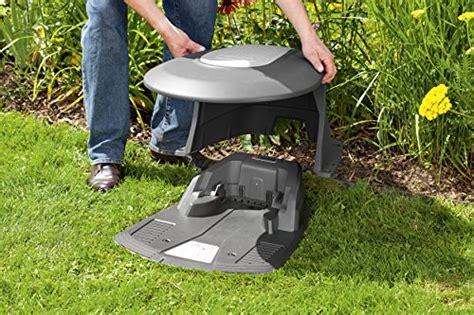 Rasenroboter Gardena Garage gardena 04007 20 rasenroboter garage test
