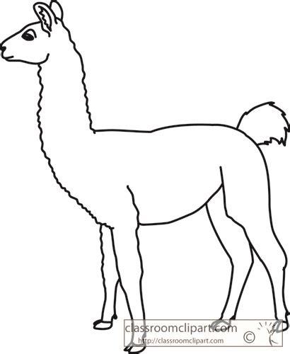 llama clipart  image