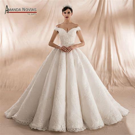 Amanda Novias 2018 Collection Ball Gown Wedding Dresses