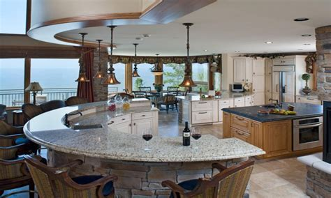 Kitchens with islands, kitchen island bar eating bar