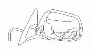 2011 Subaru Legacy Door Mirror Unit