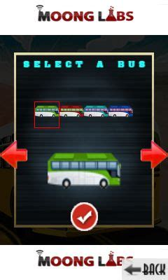 bus race madness  java game  mobile bus race madness