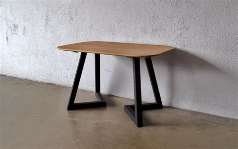 wood coffee table with metal legs reclaimed wood coffee table metal legs design