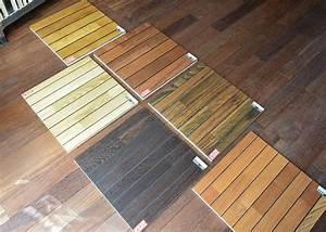 Parquet Pont De Bateau : parquet massif salle de bain en acajou avec joint int gr ~ Melissatoandfro.com Idées de Décoration