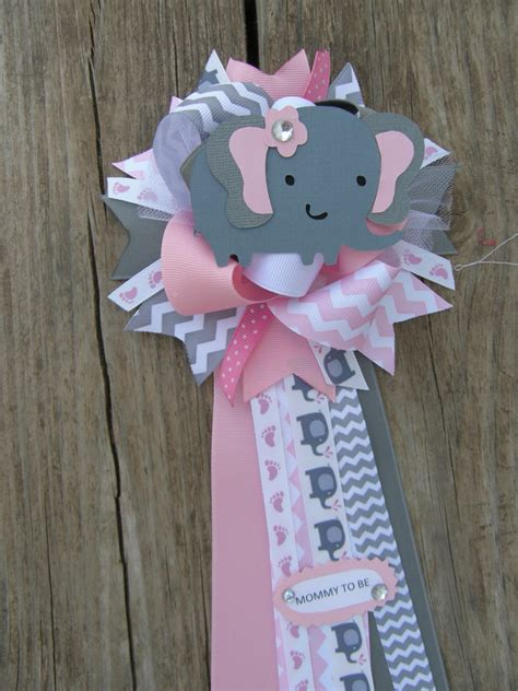 baby shower mums for baby shower theme baby shower corsage by bonbow on etsy