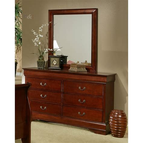 louis philippe bedroom set cherry wood free shipping