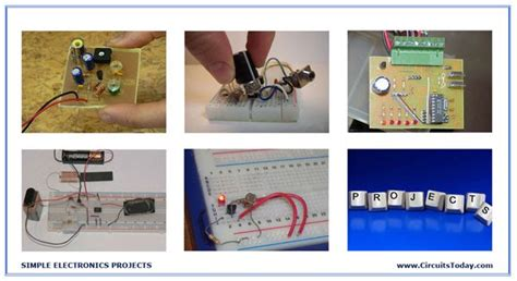 Electroidware Simple Electronics Projects Circuits