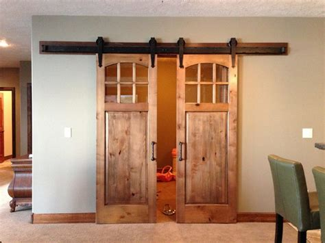 window treatment ideas for kitchens barn door rustic windows and doors other metro by