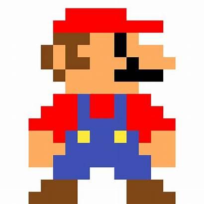Mario Pixel Super Bros Luigi Transparent Background
