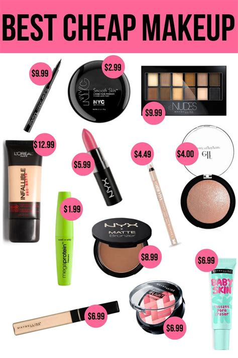 The Best Cheap Makeup  Makeup, Check and Drugstore makeup