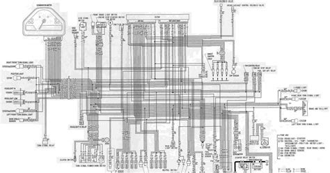 Complete Electrical Wiring Diagram For Honda Cbrrr