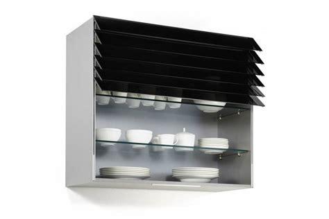 blum cuisine meuble haut de cuisine avec rideau à lamelles accessoires