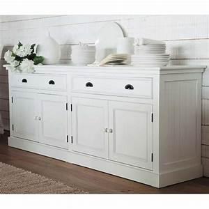 Buffet Blanc Maison Du Monde : buffet 4 portes 4 tiroirs blanc changement pinterest maison du monde tiroir et changement ~ Teatrodelosmanantiales.com Idées de Décoration