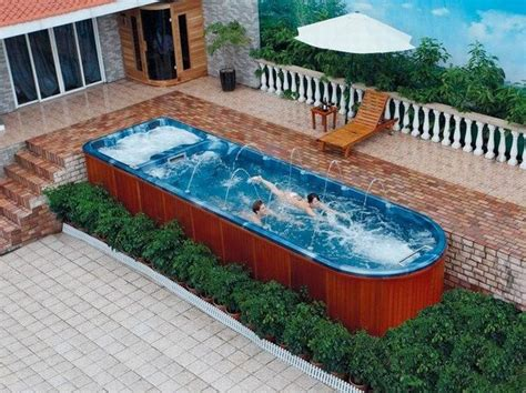 Portable Lap Pools Garden Swimming Pool Fiberglass