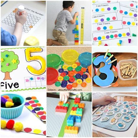 40 preschool math activities that are 448 | Preschool Math Activities Collage 1