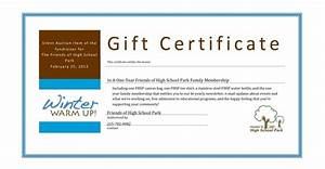 auction bid cards template - silent auction gift certificate template business plan