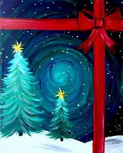 15, , easy, canvas, painting, ideas, for, christmas, 2017
