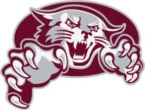 Elementary School Wildcat Logo Clip Art
