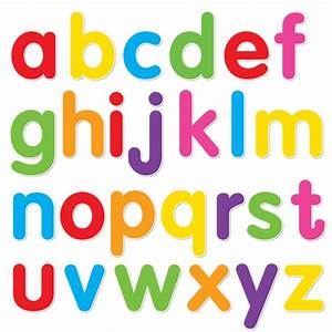 5 best images of printable abc letters lower case alphabet With abc lowercase letters