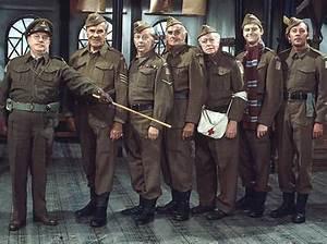 The cast of Dad's Army. Arthur Lowe, John Le Mesurier ...