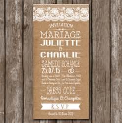 faire part mariage guinguette faire part mariage vintage chic et chetre à personnaliser